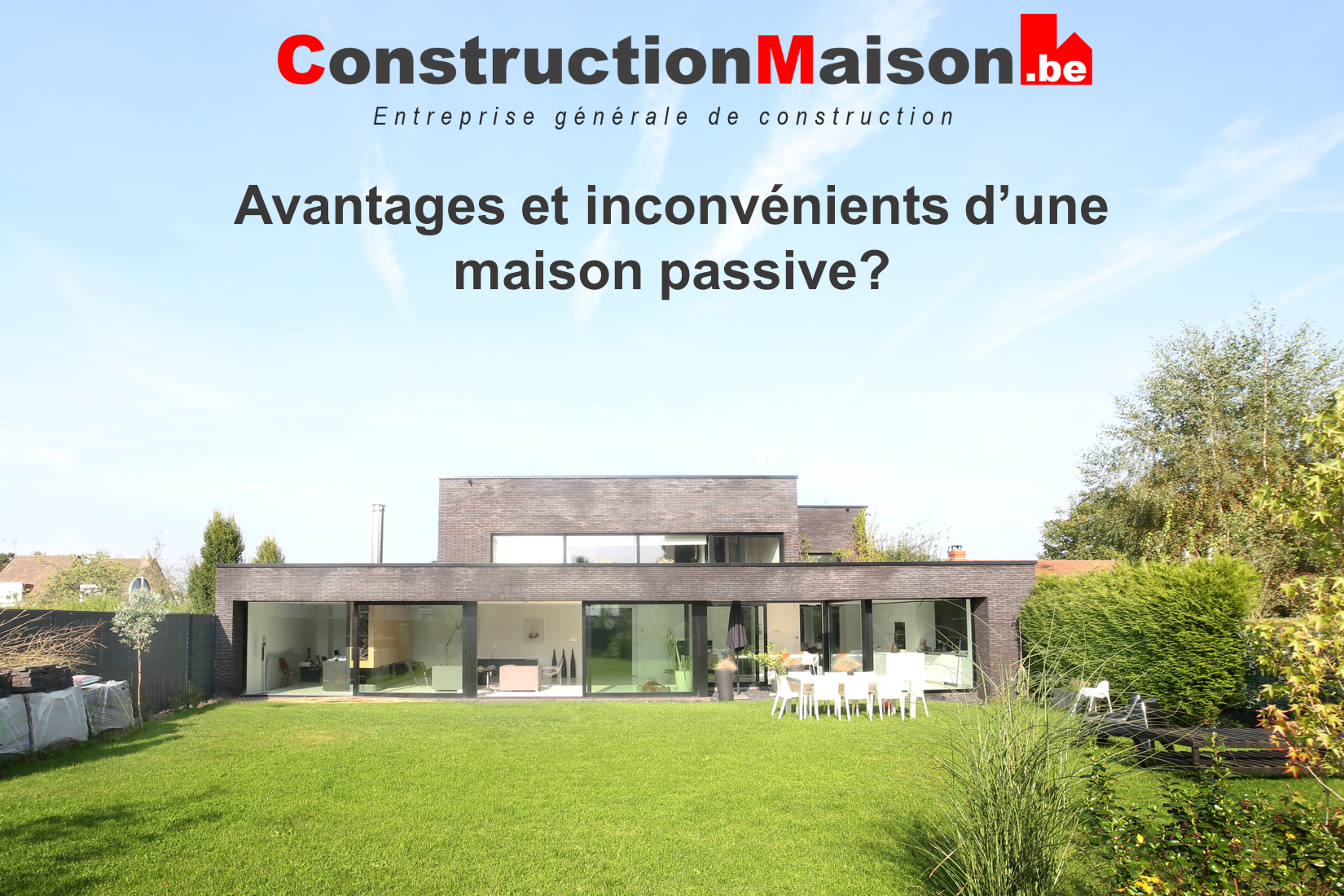 prix d une maison passive finest le concept de la maison passive a merg depuis les annes aprs. Black Bedroom Furniture Sets. Home Design Ideas